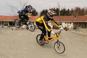 Lars Ole på Sola BMX sin bane