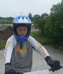 Lars Ole som fersk BMX-rytter i 2006