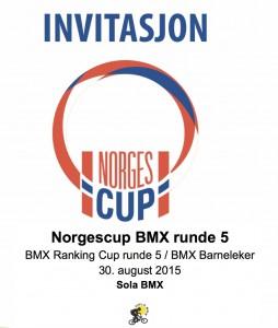 Invitasjon NC5 30-08 2015 Sola BMX